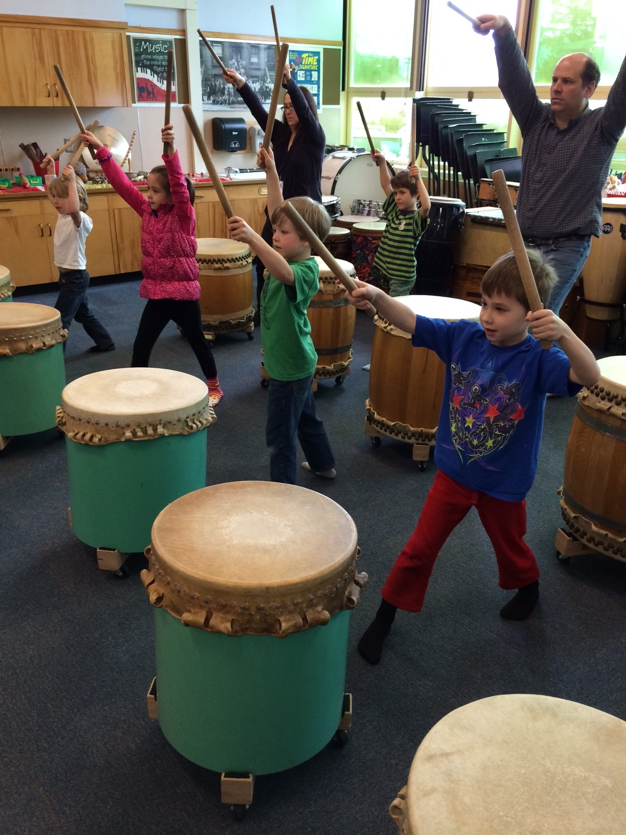Taiko at Lewis - cover